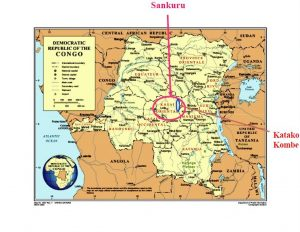 Kaart Katako